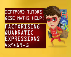 how to factorise quadratic expressions